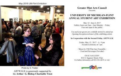 UNIVERSITY OF MICHIGAN-FLINT ANNUAL STUDENT EXHIBITION