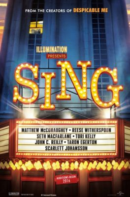 Movies Under the Stars - Sing