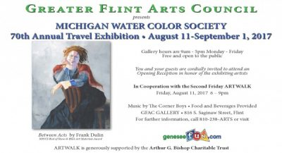 Michigan Water Color Society 70th Annual Traveling Exhibition
