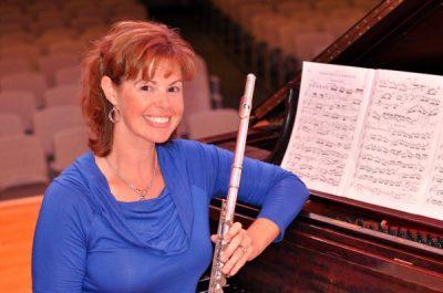 Townes Osborn Miller, flute; Carl Angelo, piano