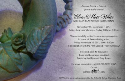 Claire Mott White Michigan Clay Artists Invitational