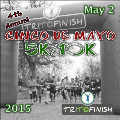 TRI TO FINISH Cinco de Mayo 5K/10K