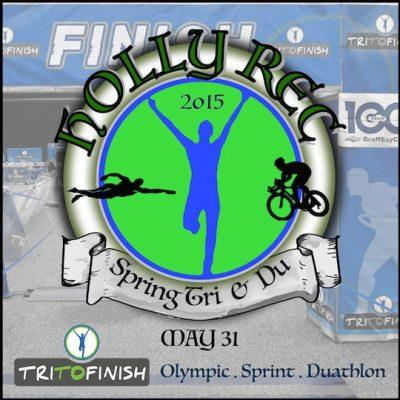 TRI TO FINISH Holly Rec Spring Triathlon