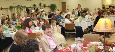 Sweet Adelines Annual Tea Garden Lucheon