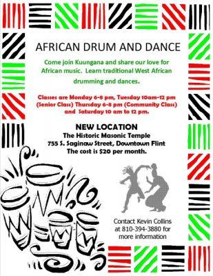 Kuungana Drum and Dance Classes