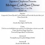 Michigan Craft Beer Dinner