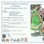 Summer Classes - Mariachi Music & Mexican Folkloric Dance