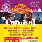 2015 Flint July 4th Festival & Carnival